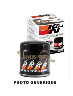 Filtre à huile moto K&N pour Aprilia Pegaso 650 (Katal/Catal) 1997-2000