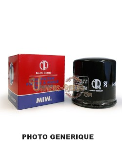 Filtre à huile moto Miw pour Aprilia Pegaso 650 2007-2012