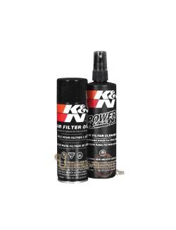 Kit nettoyage lubrifiant filtres K&N