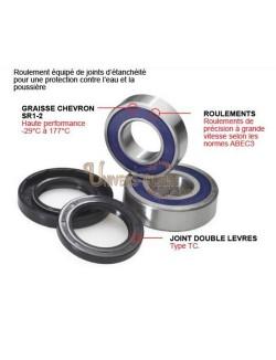 Kit roulements et joints roue avant moto All-Balls pour Yamaha DT 125 RE 2004-2006