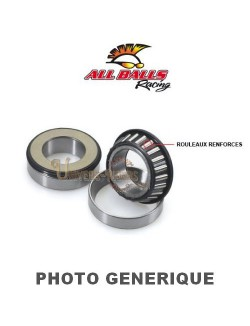 Kit roulements colonne de direction moto All-Balls pour Yamaha XV 250 Virago 1989-1990