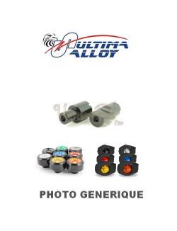 Kit de fixations Tampons Pare-carter Ultima Alloy pour Aprilia RSV4 1000 R ABS APRC 2013-2014