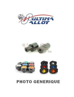 Kit de fixations Tampons Pare-carter Ultima Alloy pour Ducati  Monster 1100 EVO ABS 2011-2013