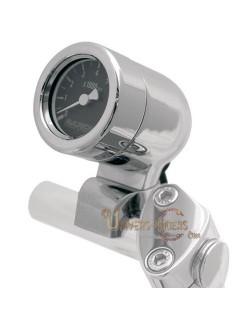 Compte Tours Mini Bullet avec pontet 25,4 mm cadran Noir