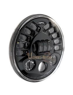 """Phare Auto-Directionnel à LED Noir de 18 cm (7"""") 8790 avec kit de montage"""