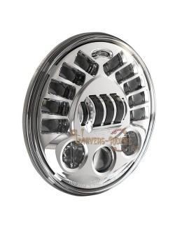 """Phare Auto-Directionnel à LED Chromé de 18 cm (7"""") 8790 avec kit de montage"""