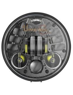 """Phare à LED Auto-Directionnels à LED Noir de 14,5 cm (5,75"""") 8691 avec support de fixation"""