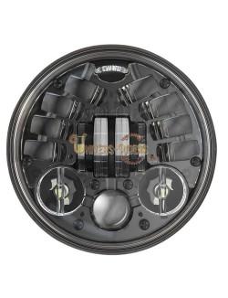 """Phare à LED Auto-Directionnel Noir de 14,5 cm (5,75"""") 8690"""