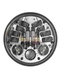 """Phare à LED Auto-Directionnels Chromé de 14,5 cm (5,75"""") 8690"""