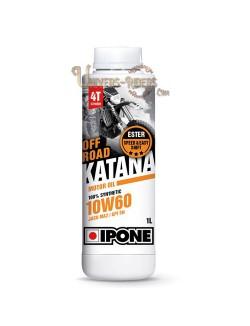 Huile moteur / Boite  Ipone Katana Off Road 10W60 100% synthétique 4T (1 litre)