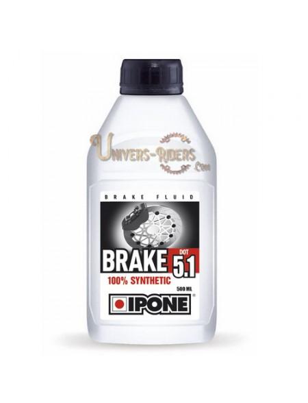 Liquide de frein et d'embrayage Ipone Brake Dot 5.1 (500 ml)