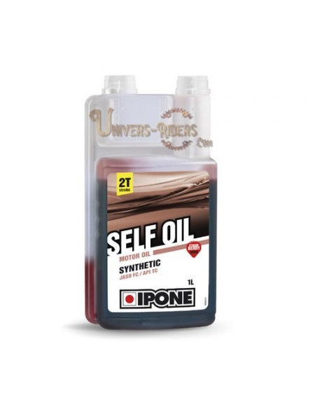 Huile moteur  Ipone Self Oil Synthétique 2T (2 litres)