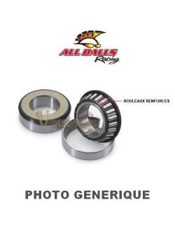 Kit roulements colonne de direction moto All-Balls pour Aprilia Tuono V4 RR 1100 2016-2020