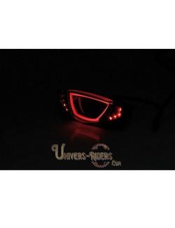 Feu arrière Fumé à LED pour Ducati Scrambler 800 Flat Track Pro 2016 Homologué