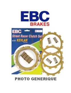 Disques garnis d'embrayage et ressort EBC SRC pour BMW F 650 ST 1996-2000