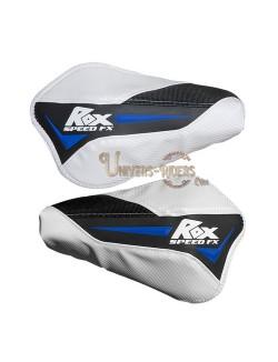 Protèges mains Flex Tec Bleu-Blanc-Noir