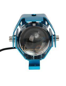Optique LED Universel Bleu 12V 6000k