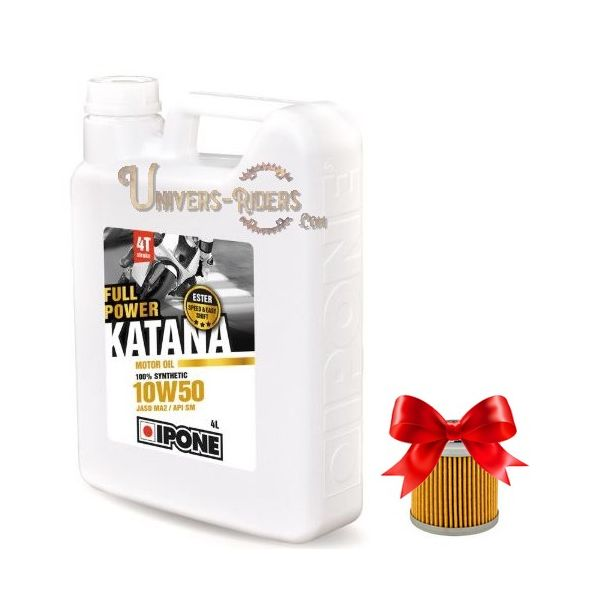 Ipone Full Power Katana 10W50 (4 litres)