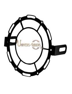 Grille de protection acier avant pour phare moto (universel) Style A