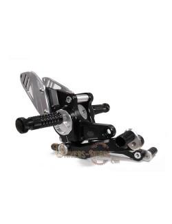 Commandes reculées moto RCT10GT Noir BMW R 1200 R et ABS 2006-2016