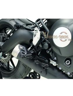 Commandes reculées moto RCT10GT Noir Yamaha MT-09 Tracer ABS 2017-2019