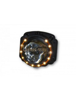 Optique lenticulaire Code H3 55W avec veilleuse LED