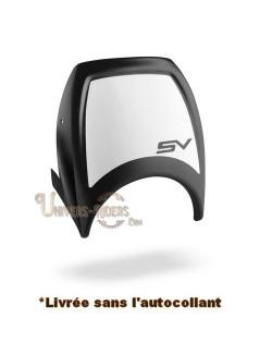 Plaque de phare noire pour Suzuki SV 650 et ABS 2018-2020