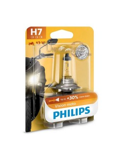 Ampoule moto Philips  H7 Vision Moto 12V 55W PX26D