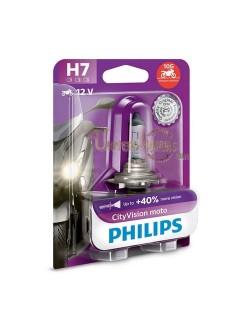 Ampoule moto Philips H7 City Moto Vision