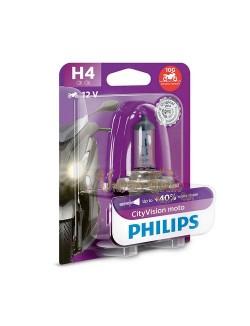 Ampoule moto Philips H4  City Moto Vision 12V 60-55 W