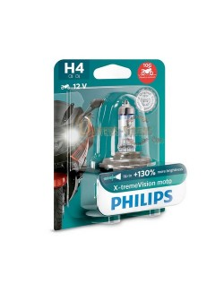 Ampoule moto Philips H4 X-Treme Vision Moto 12V 60-55 W