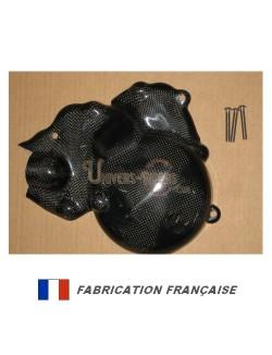 Protection carter alternateur et pompe à eau Carbone-Kevlar pour Yamaha MT-09