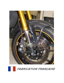 Garde boue avant carbone pour Yamaha MT-09