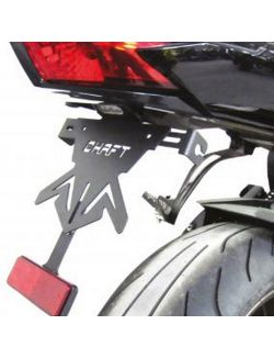 Support de Plaque Chaft pour Yamaha FZ8 N 2010-2016
