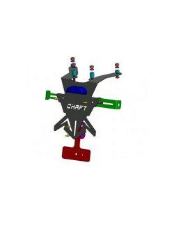 Support de Plaque Chaft pour Kawasaki Z 750 ABS 2007-2012