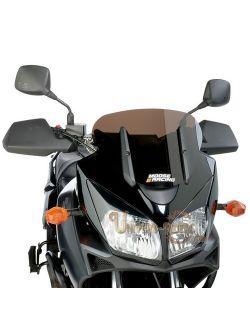 Pare Brise Adventure Fumé Foncé court -10 cm Suzuki DL 1000 V-Strom 2004-2009