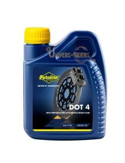 Liquide de frein moto DOT 4  Putoline 500 ml