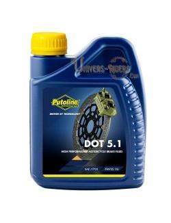Liquide de frein moto 5.1 Putoline 5.1 Brake Fluid 500 ml