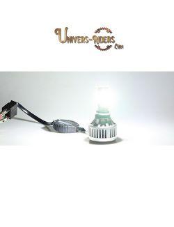Kit ampoule LED Moto UR114 Route - Harley - H4 - HS1- H8 - H6BA20D