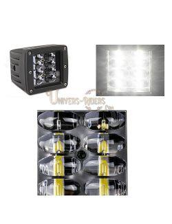 Optique Touring LED 40W pour Quad, SSV, 4X4 avec fixation