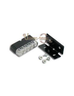 Eclairage de plaque LED moto