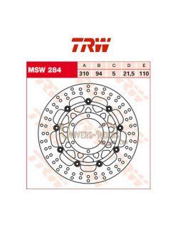 Disque de frein avant TRW pour Honda ST 1300 Pan european 2002-2009