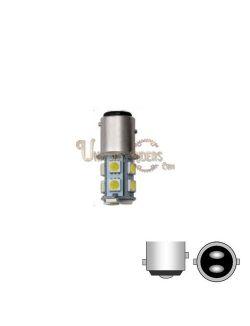 Ampoule LED SMD 1157 Blanc (Stop / Veilleuse) 180°