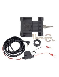 Support téléphone GPS Prenium avec Chargeur pour moto (sans fixations)