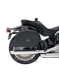 Sacoches cavalieres moto cuir Saddlemen Slants Cruis N Grand Taille