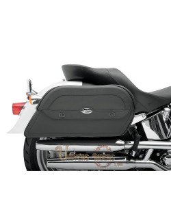 Sacoches cavalieres moto cuir Saddlemen Slants Cruis N Extra Jumbo