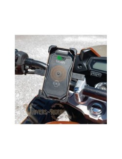 Support telephone moto chaft avec chargeur Induction