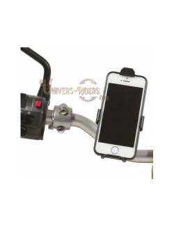 Support de telephone chaft reglable au Guidon moto