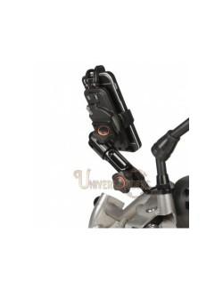 Support de telephone chaft reglable rétroviseur moto