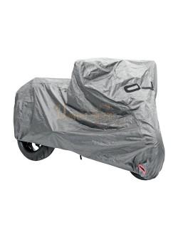Housse de protection moto OJ Grise Taille L plus (Top case et pare brise)